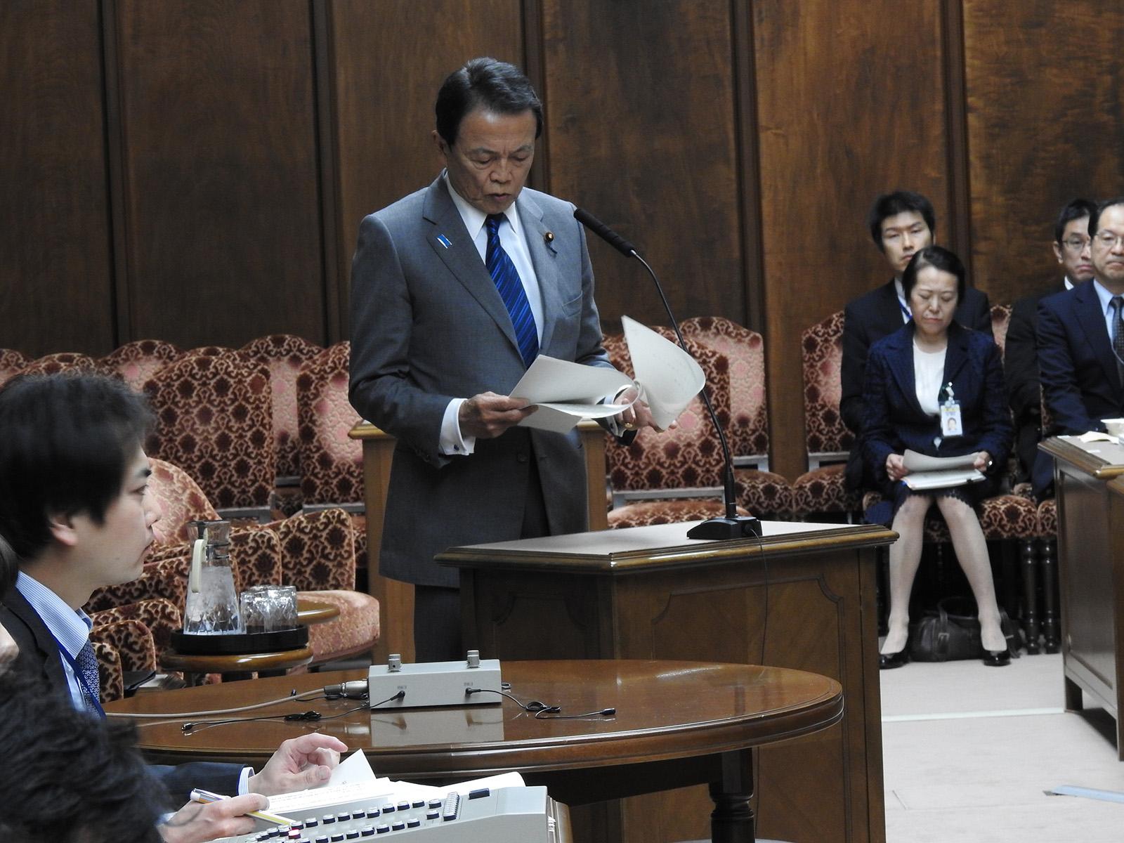 決算の参議院
